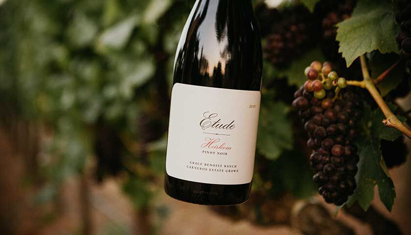 etude heirloom pinot noir is an example of the wines you would received as a club member