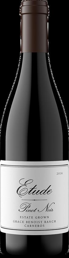 2016 Etude Carneros Grace Benoist Ranch Estate Grown Pinot Noir Bottle Shot