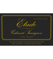Etude 2014 Napa Valley Cabernet Sauvignon Front Label, image 2
