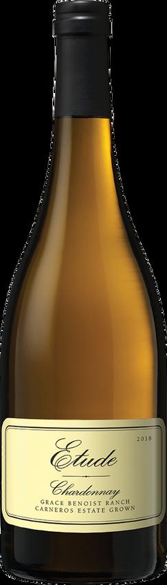 Etude 2018 Carneros Grace Benoist Ranch Chardonnay Bottle Shot