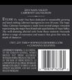 Etude 2014 Napa Valley Cabernet Sauvignon Back Label, image 3