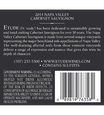 Etude 2014 Napa Valley Cabernet Sauvignon Back Label, image 3